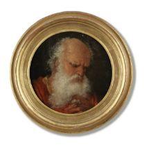 Venetian School, early 17th Century Two bearded men 21.8 cm. (8 1/2 in.) diameter (2)