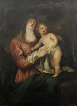 After Sir Anthony van Dyck, 19th Century The Madonna and Child