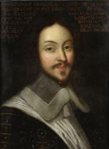 Follower of Philippe de Champaigne (Brussels 1602-1674 Paris) Portrait of gentleman, said to be C...