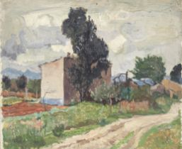 John Anthony Park (British, 1880-1962) 'Countryside, Majorca' (to be sold along with two other wo...