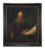 After Rembrandt Harmensz van Rijn, 19th Century Saint Paul