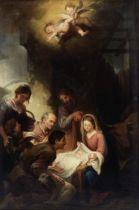 Juan Cabral Bejarano (active Spain, 19th Century), After Bartolome Esteban Murillo The adoration...