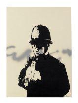 Banksy (B. 1975) Rude Copper 2002