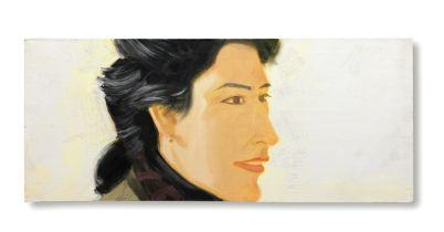 Alex Katz (B. 1927) Eileen 1990