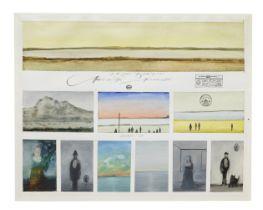 Saul Steinberg (1914-1999) A Biography (9 Postcards) 1970