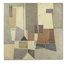 Geer van Velde (1898-1977) Composition circa 1957