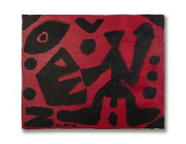 A. R. Penck (1939- 2017) Untitled 1989
