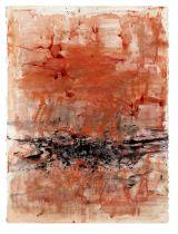Zao Wou-Ki (1920-2013) Red Composition 1962
