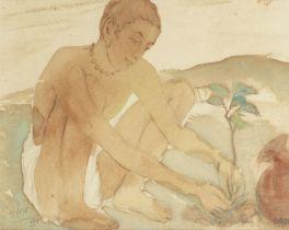 Mukul Dey (Indian, 1895-1989) Kalika