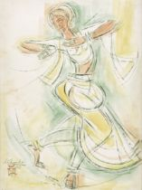 Shiavax Chavda (INDIAN, 1914-1990) Bharata Natyam Dancer
