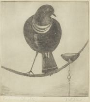 Abdur Rahman Chughtai (Pakistani, 1897-1975) Pet Bird