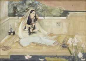 Devi Prasad Roy Chowdhury (Indian, 1899-1975) An Inmate of the Harem