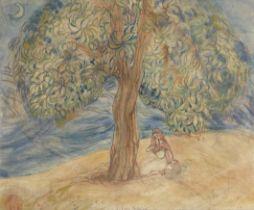 Mukul Dey (Indian, 1895-1989) Sita's Grief