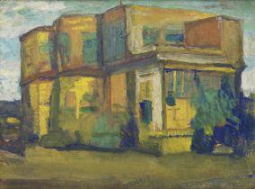 Jamini Roy (Indian, 1887-1972) Untitled (House)