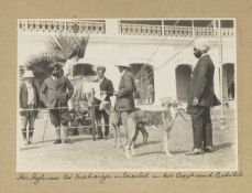 An album of photographs relating to the Patiala Championship Dog Show India, by Devare & Co., Bom...