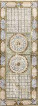 A GROUP OF THREE ILLUMINATED PRAYER SCROLLS AND TWO TALISMANIC DIAGRAMS, WRITTEN ON VELLUM Qajar ...