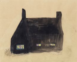Mary Newcomb (British, 1922-2008) The Black House