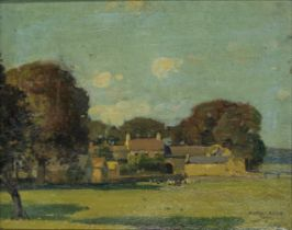 Stanley Royle (British, 1888-1961) Priest Hill Farm, Mayfield Valley