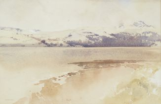 Sir William Russell Flint, RA, PRWS (British, 1880-1969) Snow, Gareloch