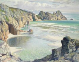 Samuel John Lamorna Birch, RA, RWS, RWA (British, 1869-1955) Lamorna Cove, Cornwall