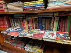 A Large collection of books which includes The Lone Ranger, The Tunnel Buster and Chalky