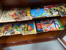 A Collection of various comics and annuals which incudes DC Superman comics and 1960's superman