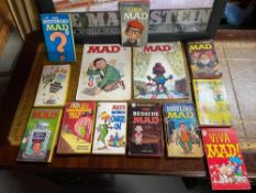 A Collection of William M. Gaines's 'Mad' Books and annuals