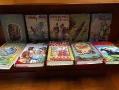 A Collection of classic 1950's and 60's books.