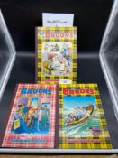 A 1972, 1982 & 1984 The Broons Annuals. All in a good condition.
