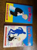 1963 & 1969 Oor Wullie annuals together with 1968 & 1976 The Broons annuals