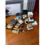 A selection of various collectable lighters and various odds. To include Ronson Varaflame gas