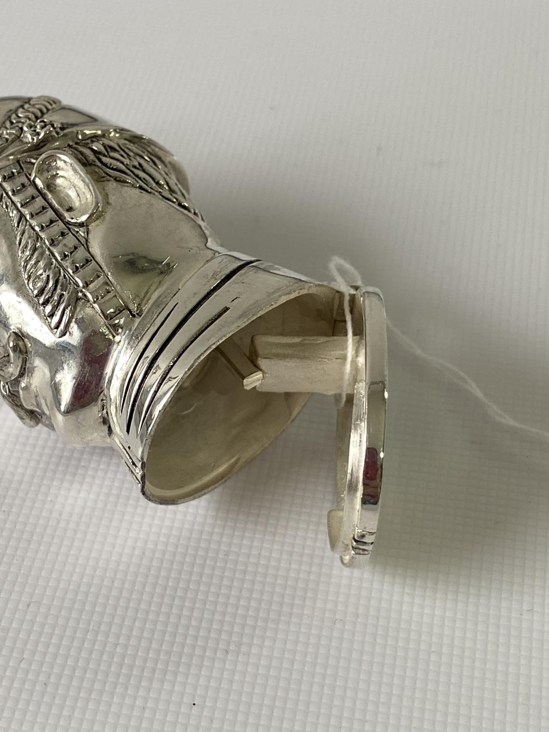 A Silver plated vesta case in the form of a policeman [6.2cm in length] - Image 9 of 10