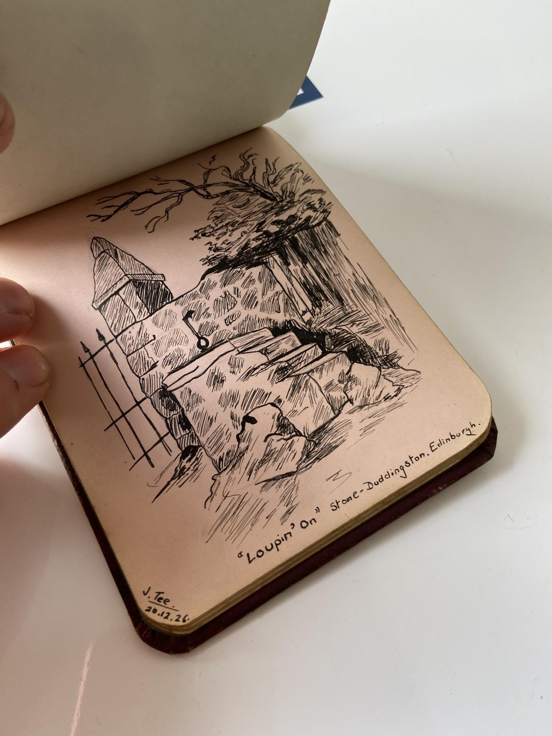 An old autograph album containing various poems, sayings & doodles - Image 17 of 18