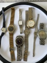 A selection of various gents & ladies vintage watches to include; Citizen automatic 21 jewels,