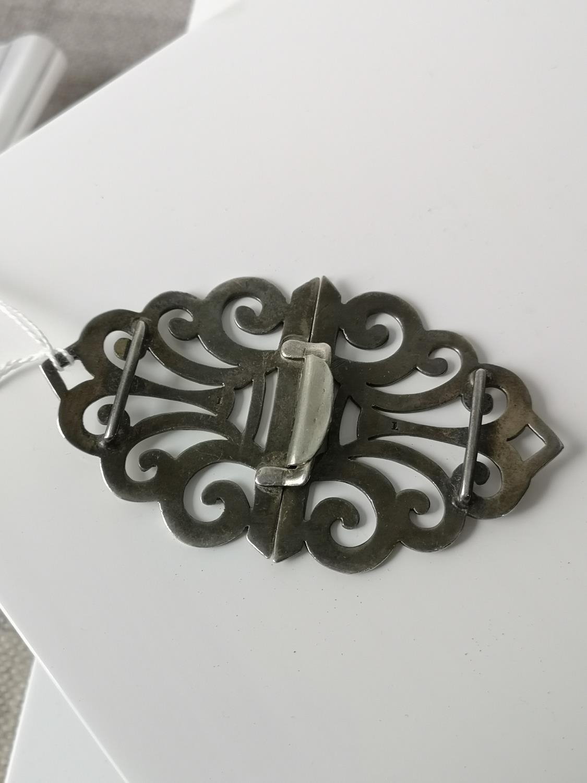 A Birmingham silver belt buckle [10cm in length] [37.16grams] - Image 3 of 3