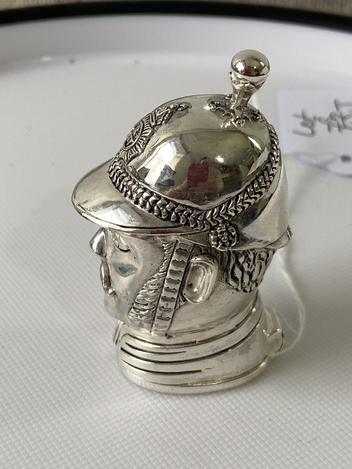A Silver plated vesta case in the form of a policeman [6.2cm in length] - Image 8 of 10