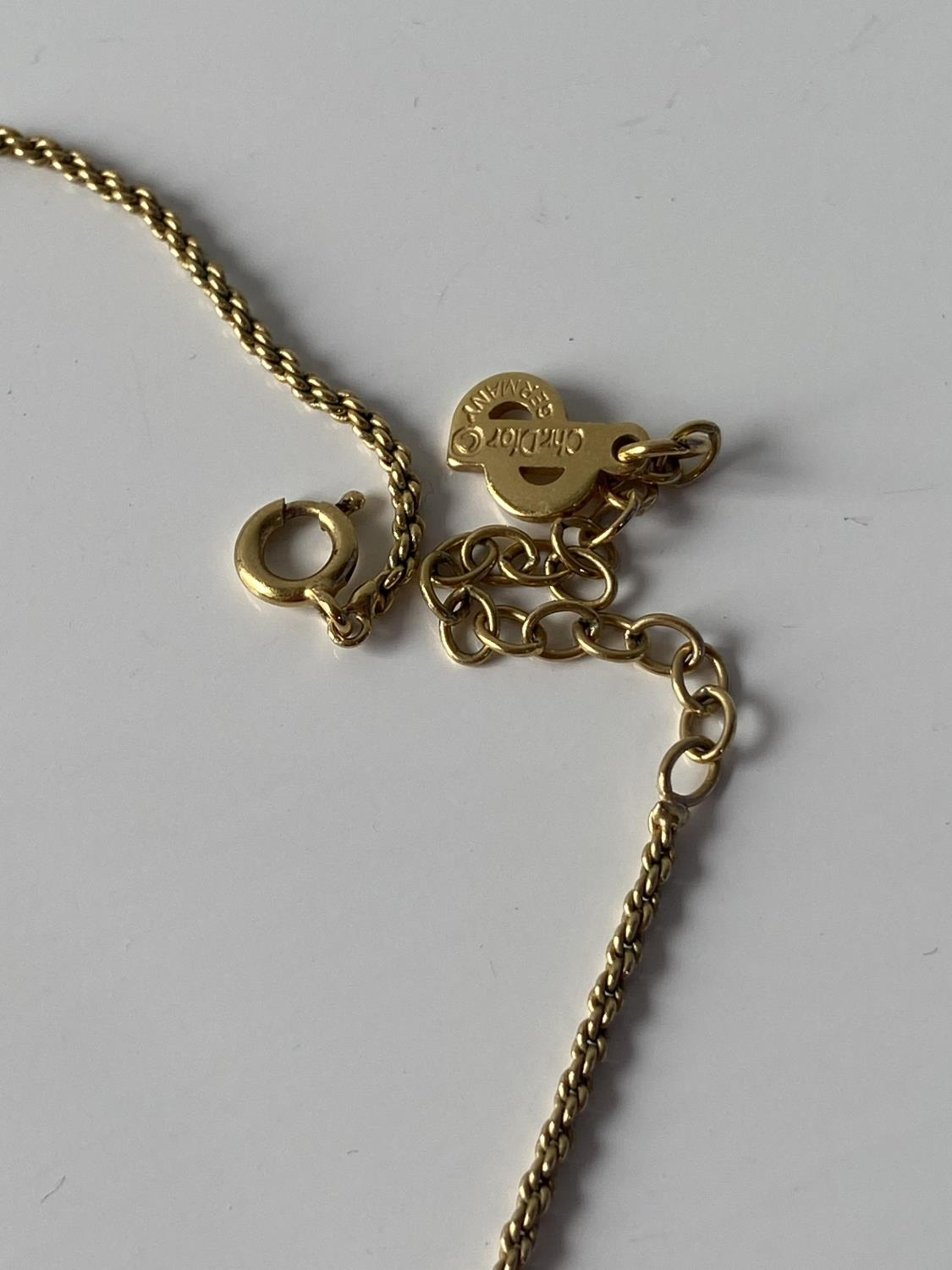 A vintage Christian Dior Germany gold plated necklace & pendant, together with various costume - Image 6 of 6