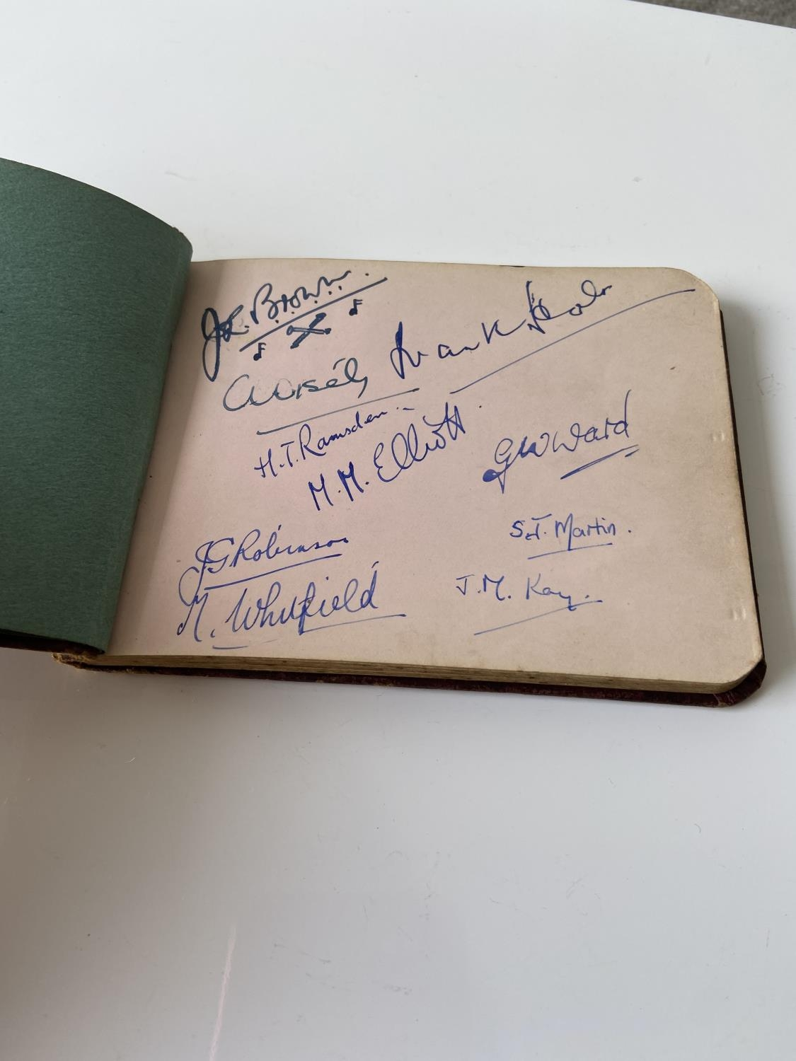 An old autograph album containing various poems, sayings & doodles - Image 3 of 18