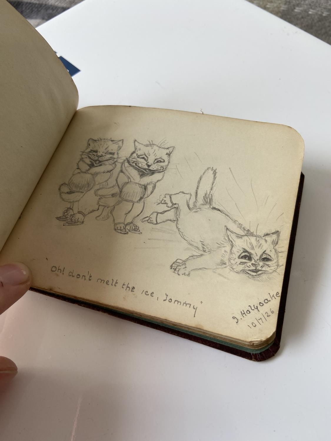 An old autograph album containing various poems, sayings & doodles - Image 16 of 18