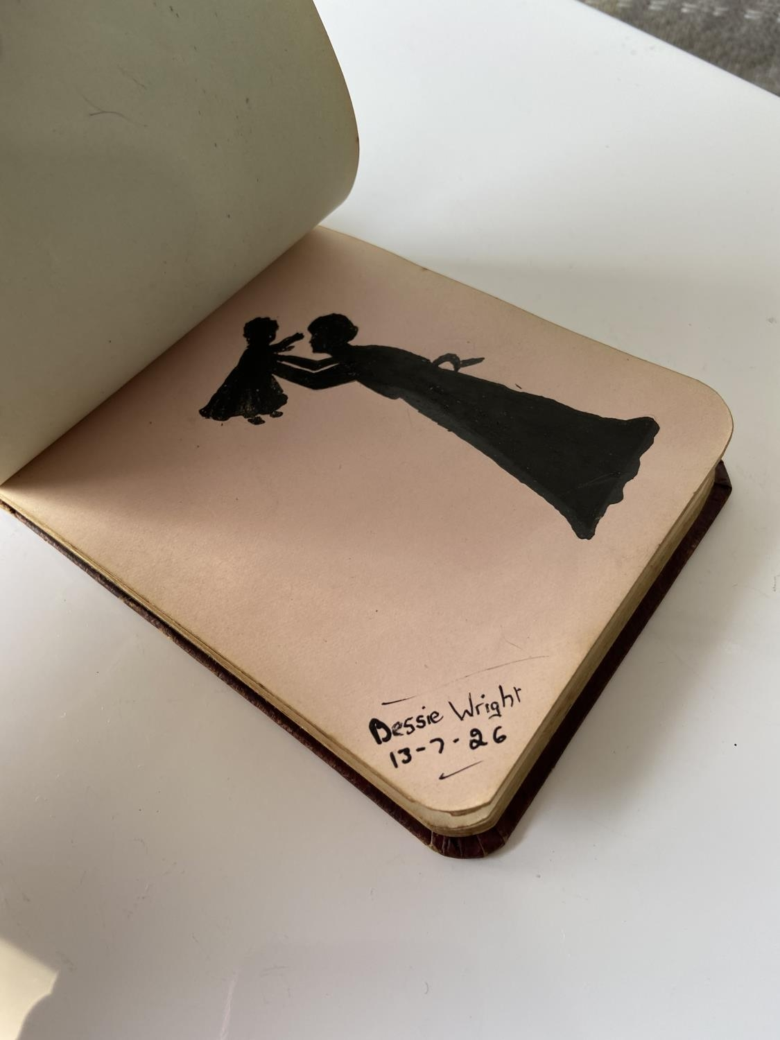 An old autograph album containing various poems, sayings & doodles - Image 13 of 18