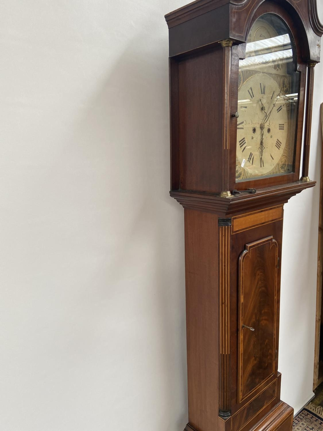 A 19th century Grandfather clock in a working condition [24x44x24cm] - Image 9 of 12