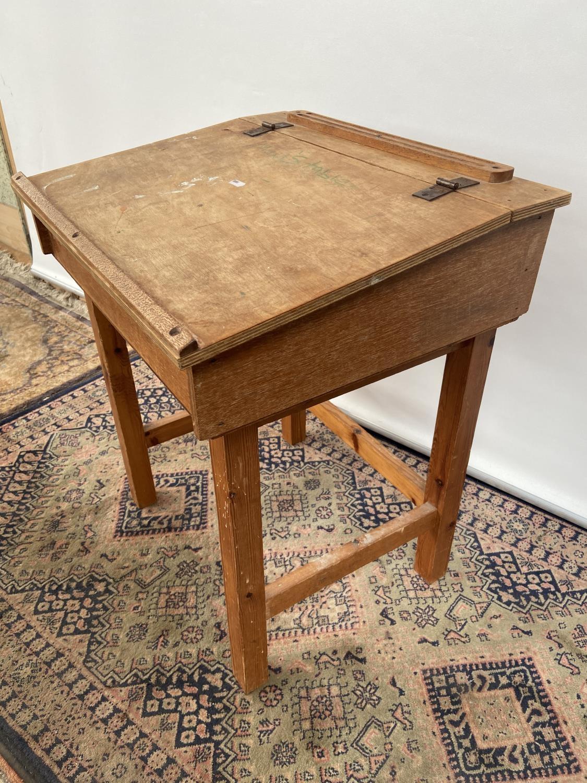 Vintage School desk [64x54x45cm] - Image 2 of 4