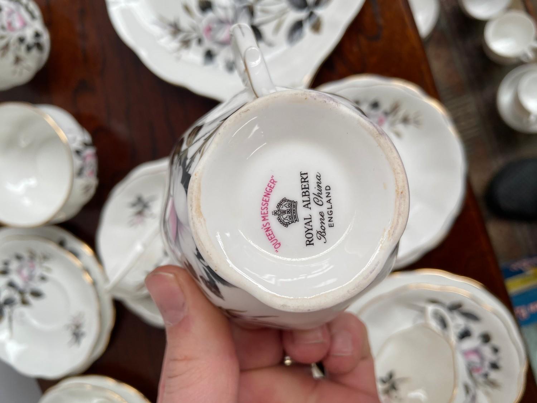 A Vintage Royal Albert part tea set titled 'Queens Messenger' - Image 2 of 2