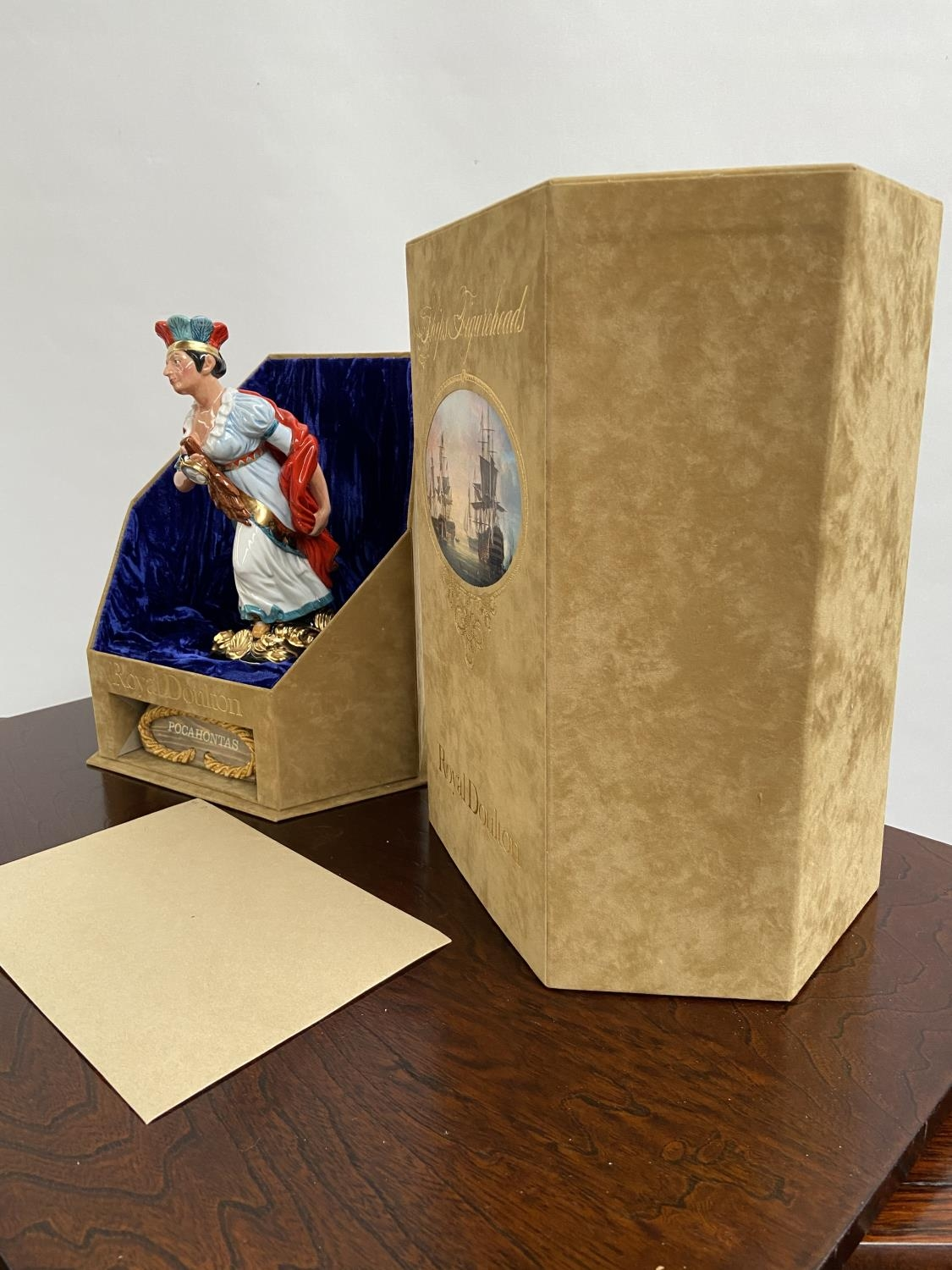 A Rare Royal Doulton Ships Figureheads bust titled 'Pocahontas' HN2930 [limited edition 69/950] - Image 5 of 7