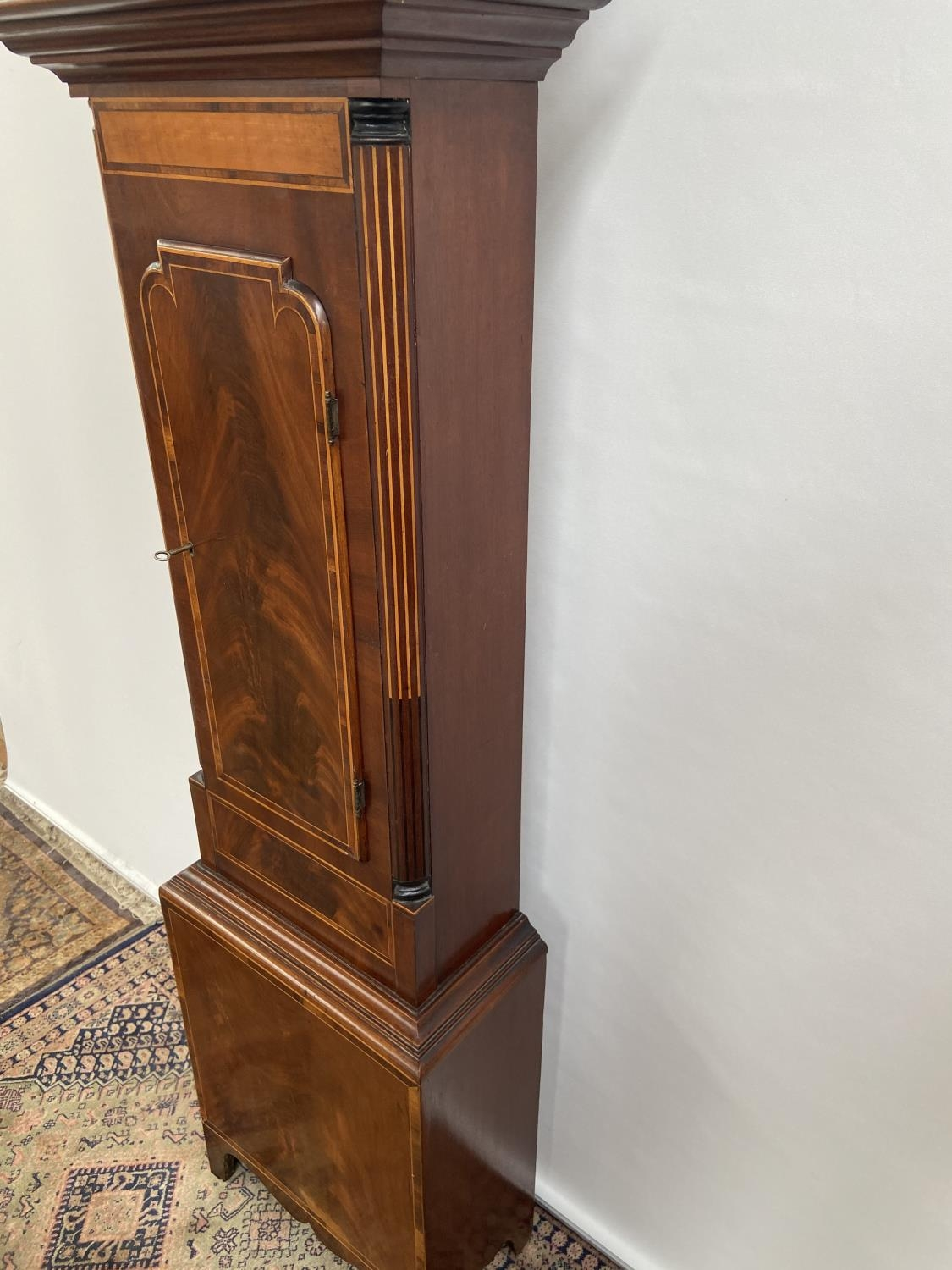 A 19th century Grandfather clock in a working condition [24x44x24cm] - Image 11 of 12