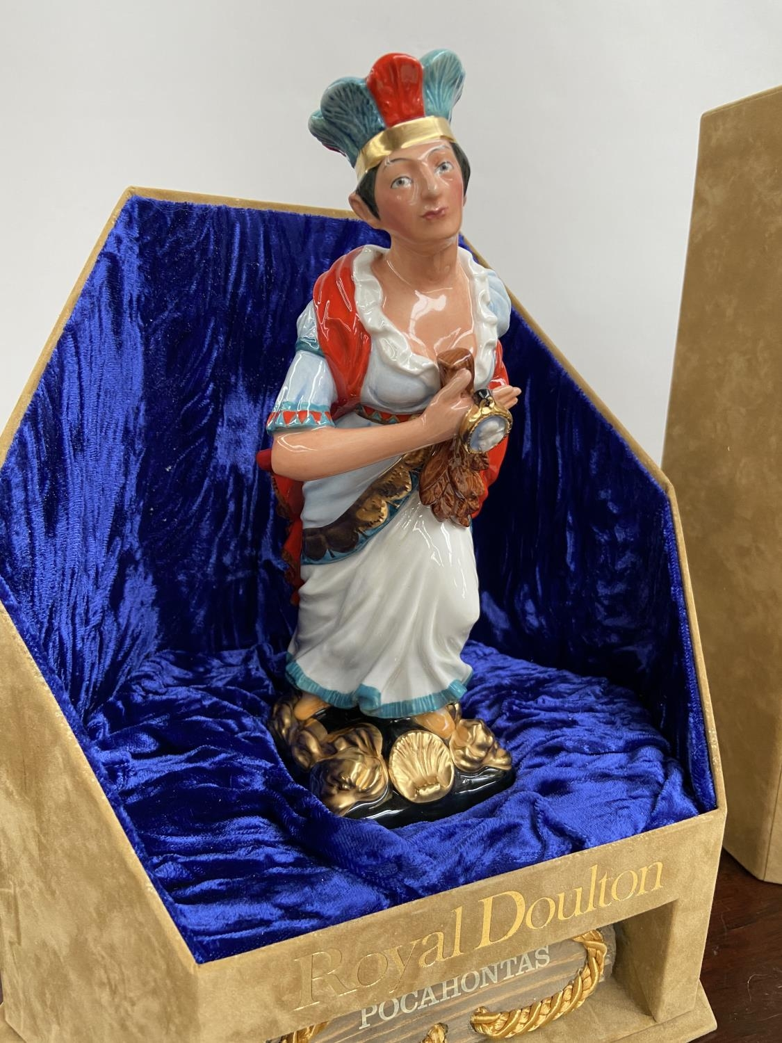 A Rare Royal Doulton Ships Figureheads bust titled 'Pocahontas' HN2930 [limited edition 69/950] - Image 2 of 7