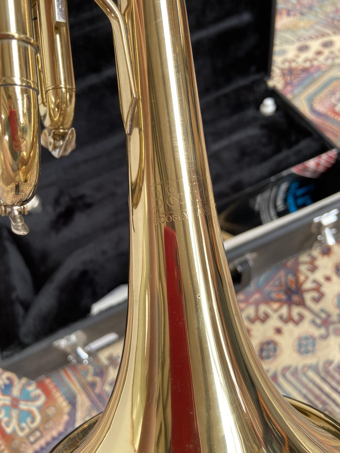 A Boosey & Hawks 800 trumpet, with mouthpiece & carry case - Image 4 of 7