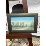 Nicholas Mace Landscape oil painting [22x31.5cm]