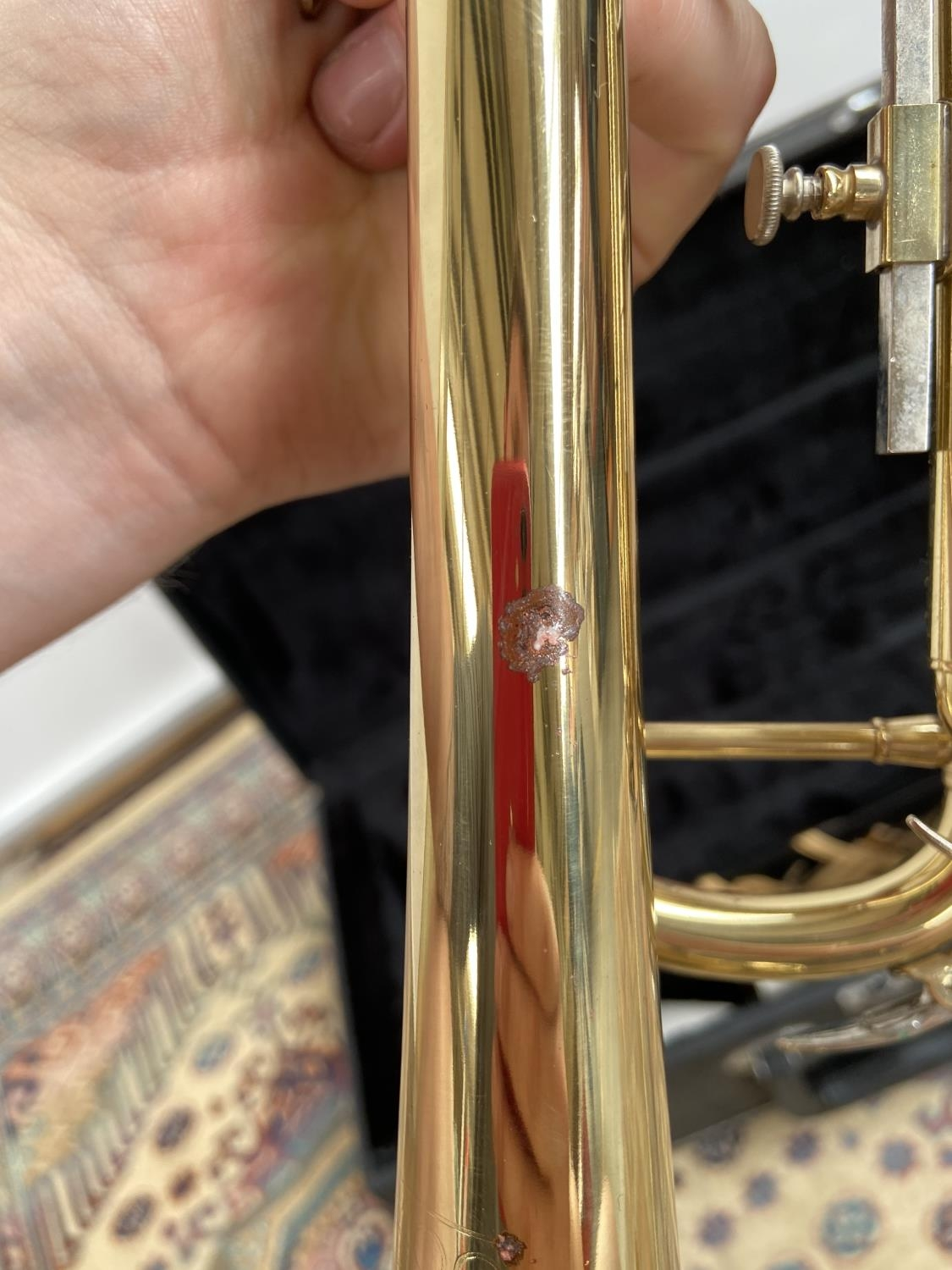 A Boosey & Hawks 800 trumpet, with mouthpiece & carry case - Image 6 of 7