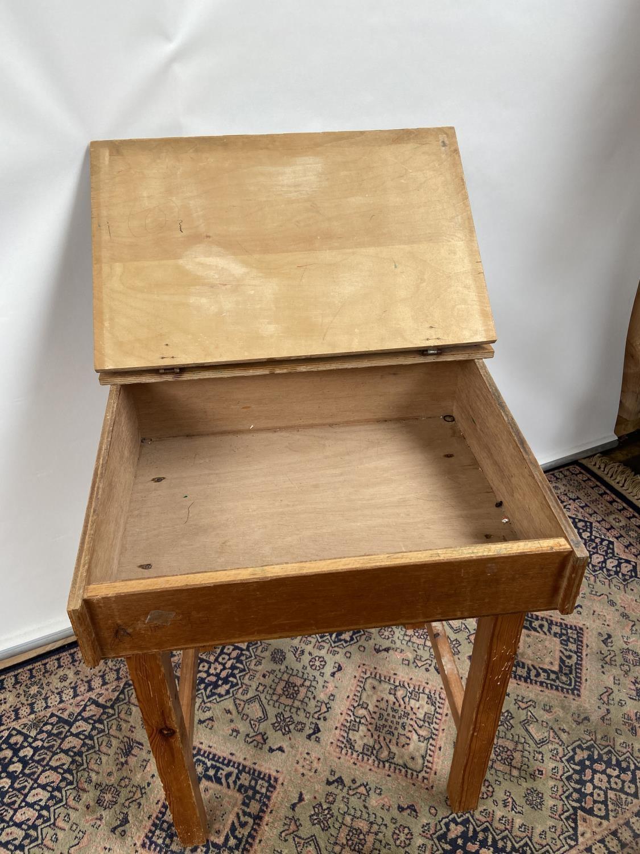 Vintage School desk [64x54x45cm] - Image 4 of 4